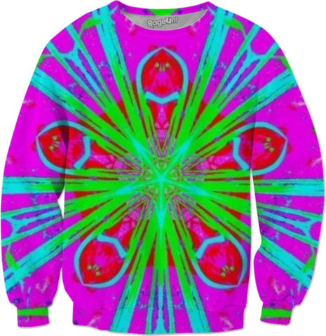 Flower Burst Sweatshirt