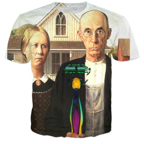 Embracing American Gothic