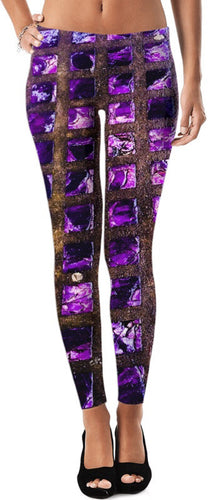 Amethyst Sidewalk Leggings