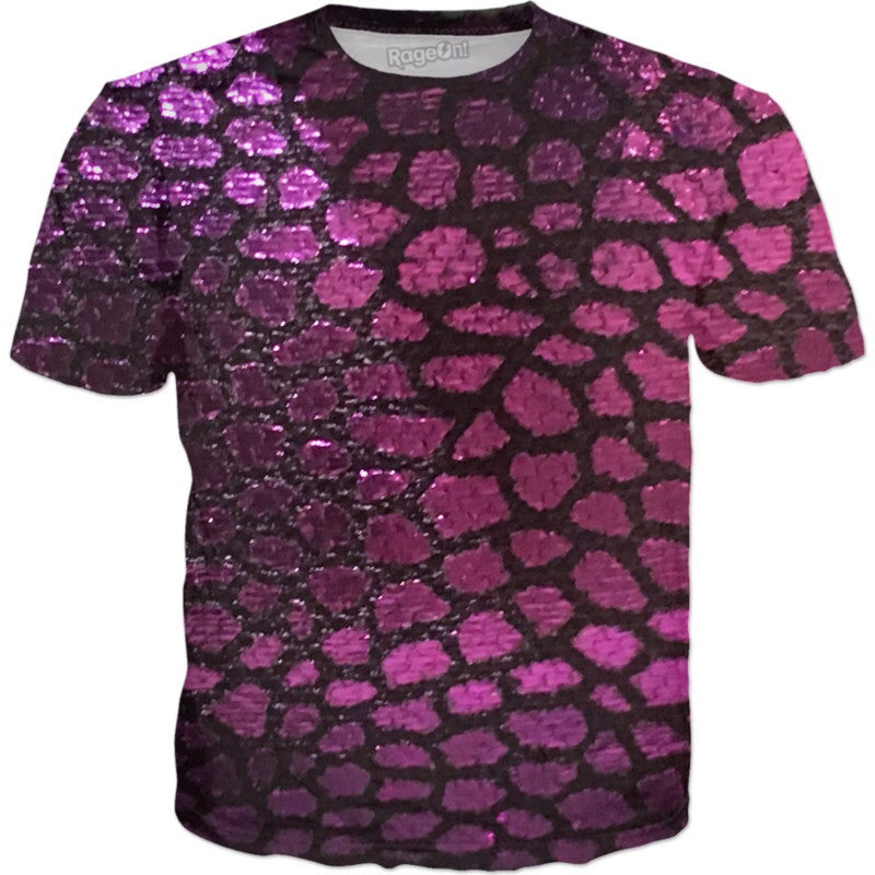 Purple Scales Tee