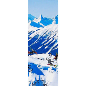 Embrace the Slopes Yoga Mat