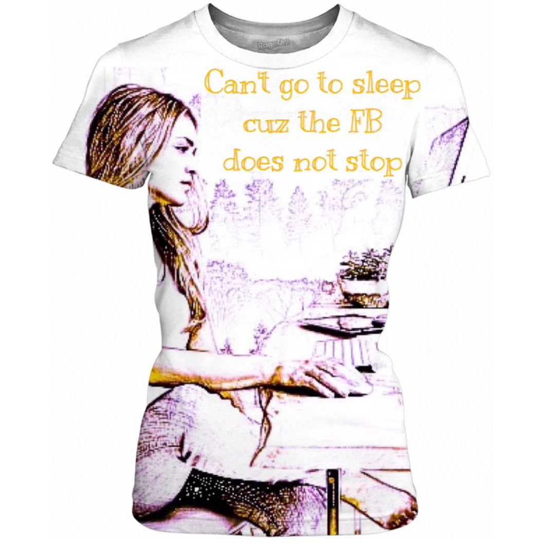 The FB Does Not Stop Women's Tee