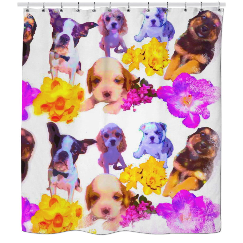 Puppy Dreams Shower Curtain