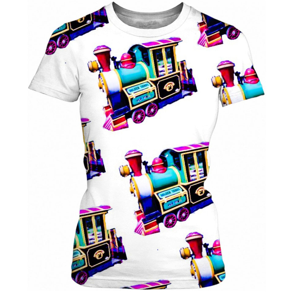 Trains Ladies Tee