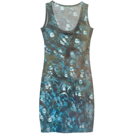 Aqua Bubbles Dress