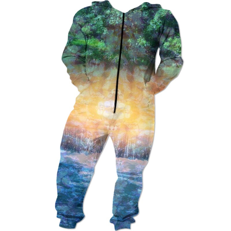 Rainforest Waterfall Onesie