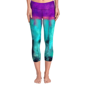 Ink Blot Yoga Pants