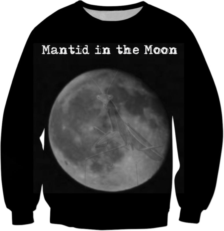 Mantid in the Moon Sweatshirt