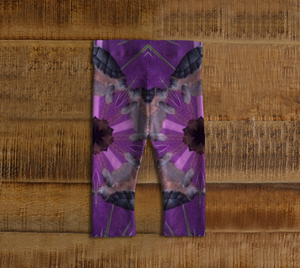 Tortue Violet Baby Leggings