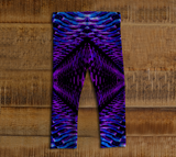 Purple Tunnel Baby Leggings