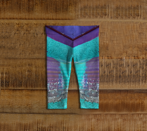 Flaked Paint Baby Leggings