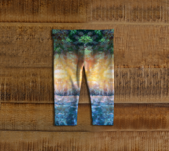 Rainforest Waterfall Baby Leggings
