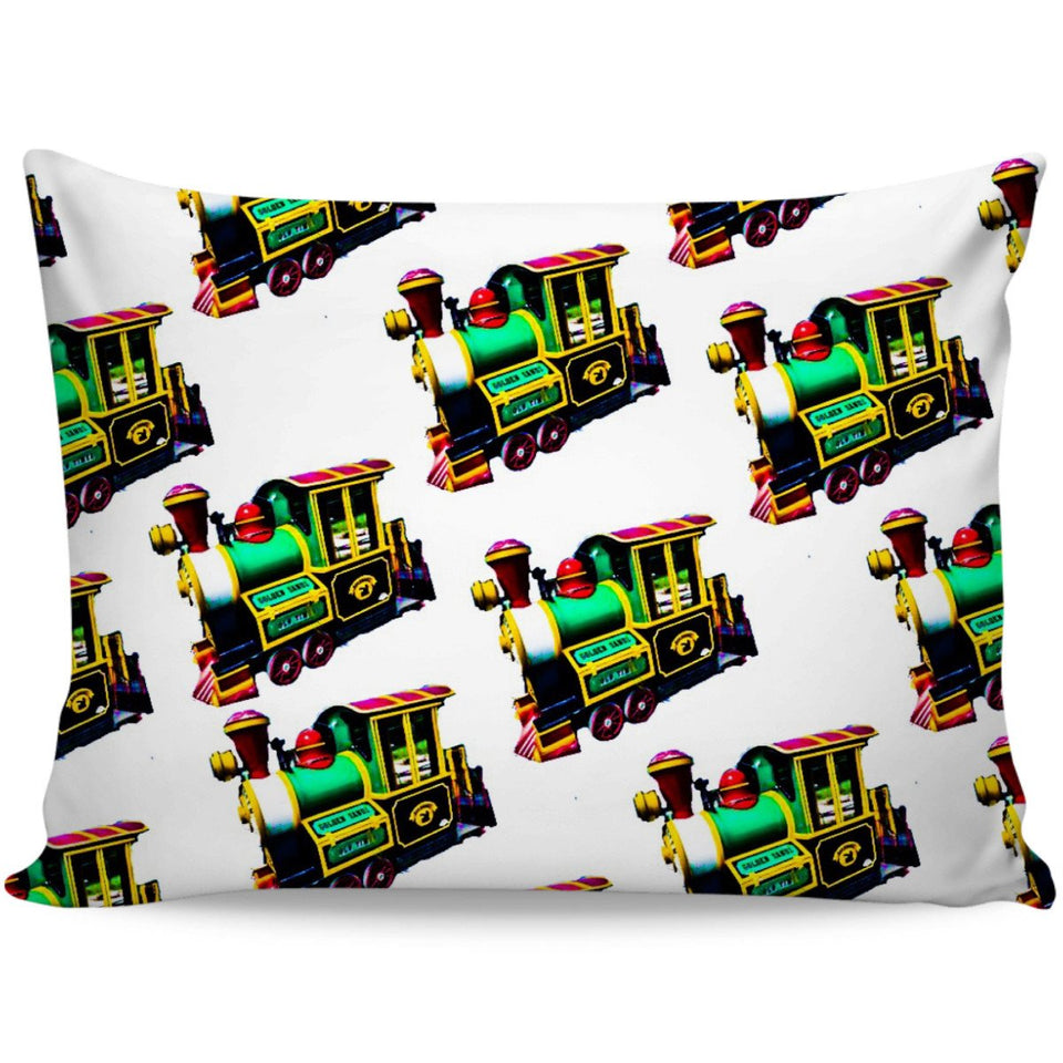 Trains Pillow Cases