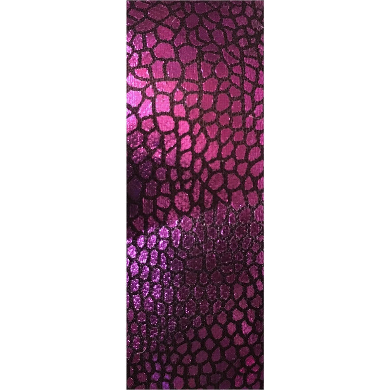 Purple Scales Yoga Mat