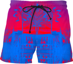 Vancouver Red Swim Shorts