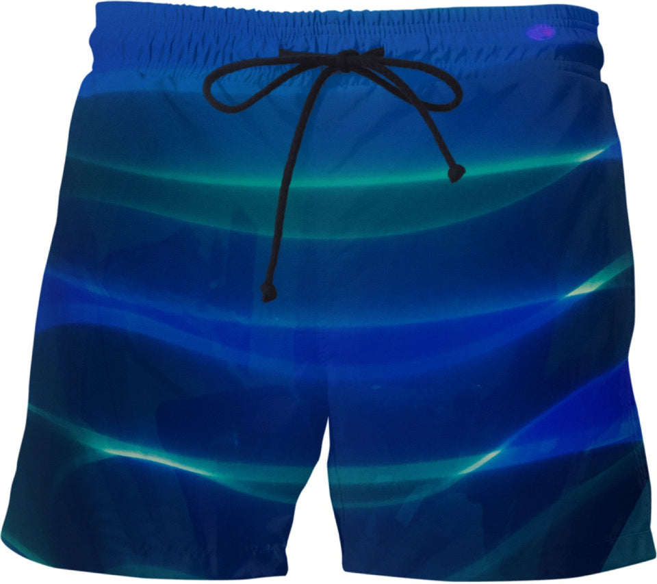 Blenko Blue Green Swim Shorts