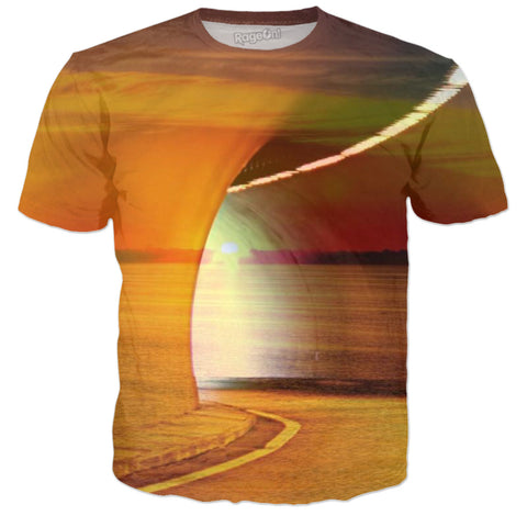 Sunset Tunnel Tee