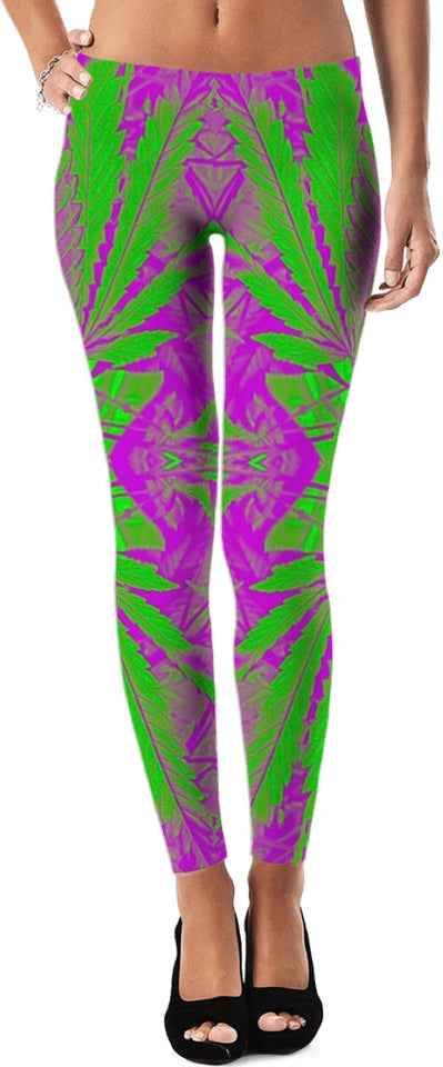 Hazy Dream Leggings #RageOnWeedContest