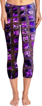 Amethyst Sidewalk Yoga Pants