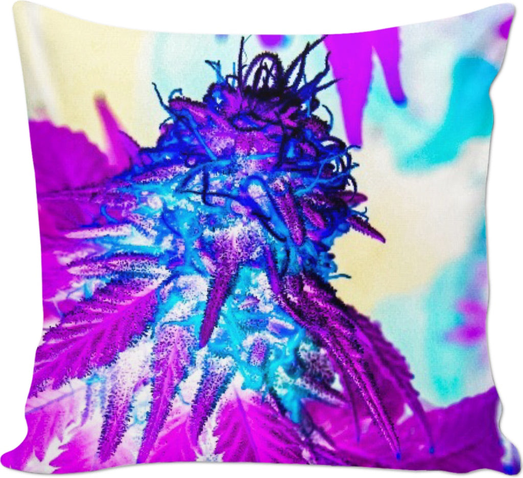 Hazy Bud Couch Pillow #RageOnWeedContest