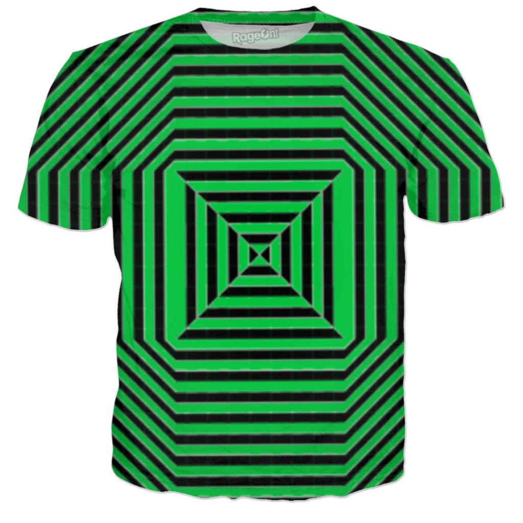 Green Screen Quad Tee