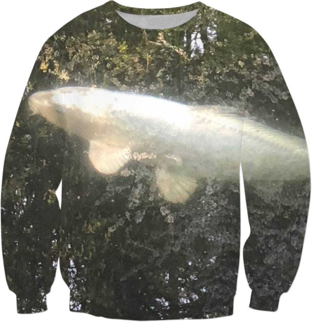 Koi Reflection Sweatshirt