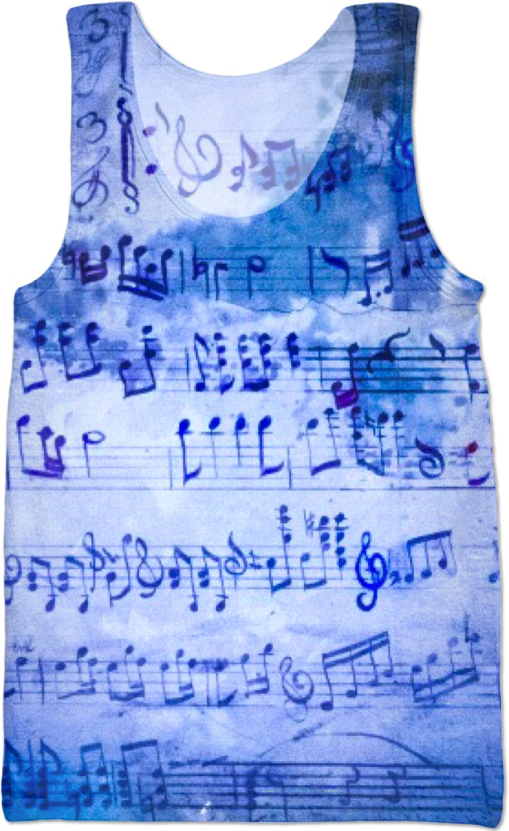 Musically Inclined Tank Top