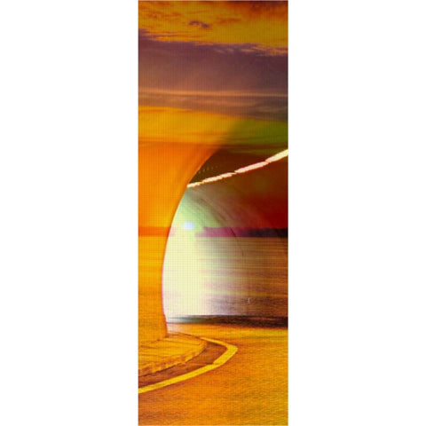 Sunset Tunnel Yoga Mat