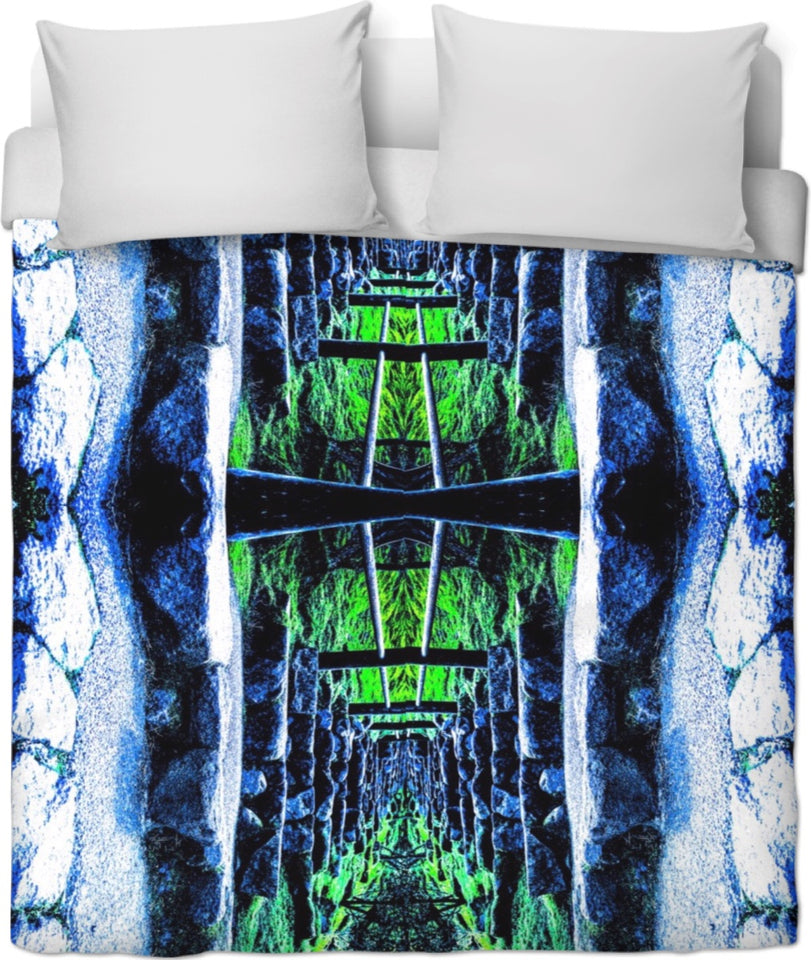Infinity Stairs Duvet Cover