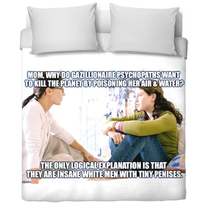 Insane Psychopaths Duvet Cover