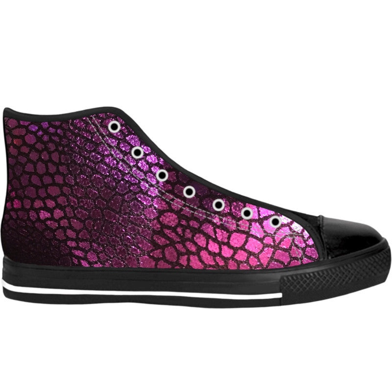 Purple Scales High Tops