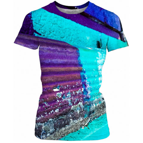 Flaked Paint Women's Tee