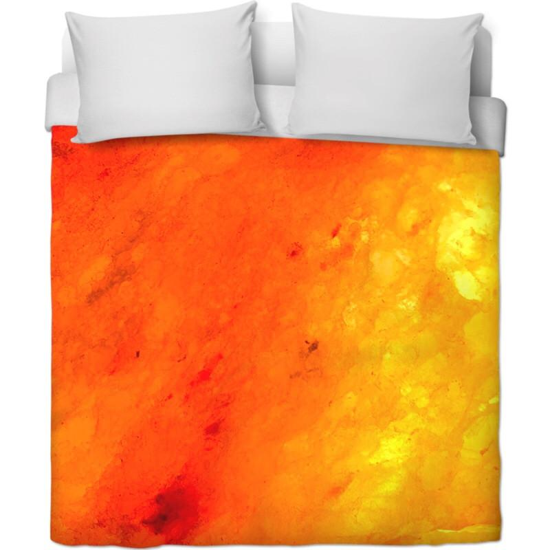 Tangerine Dream Duvet Cover