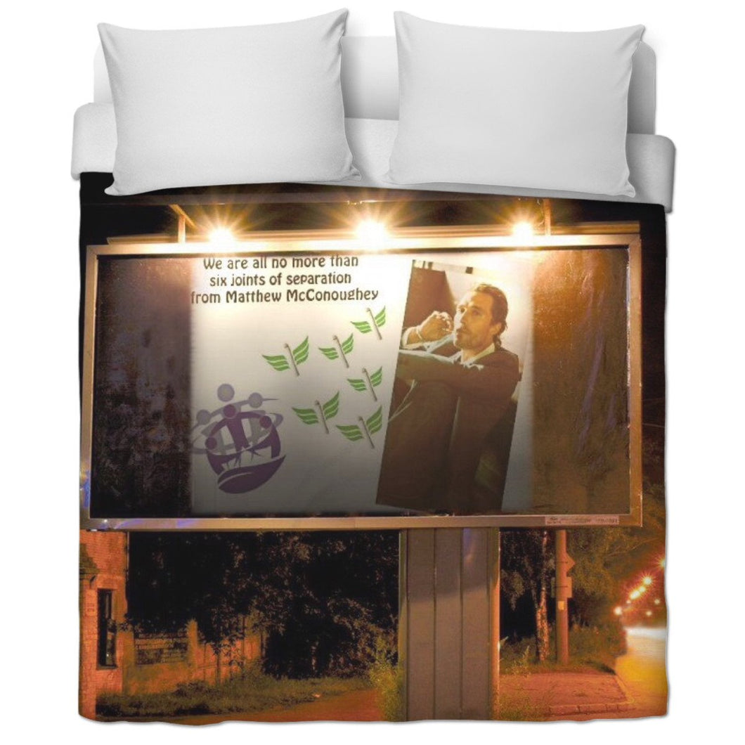 Six Joints of Separation Duvet Cover
