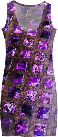 Amethyst Sidewalk Dress