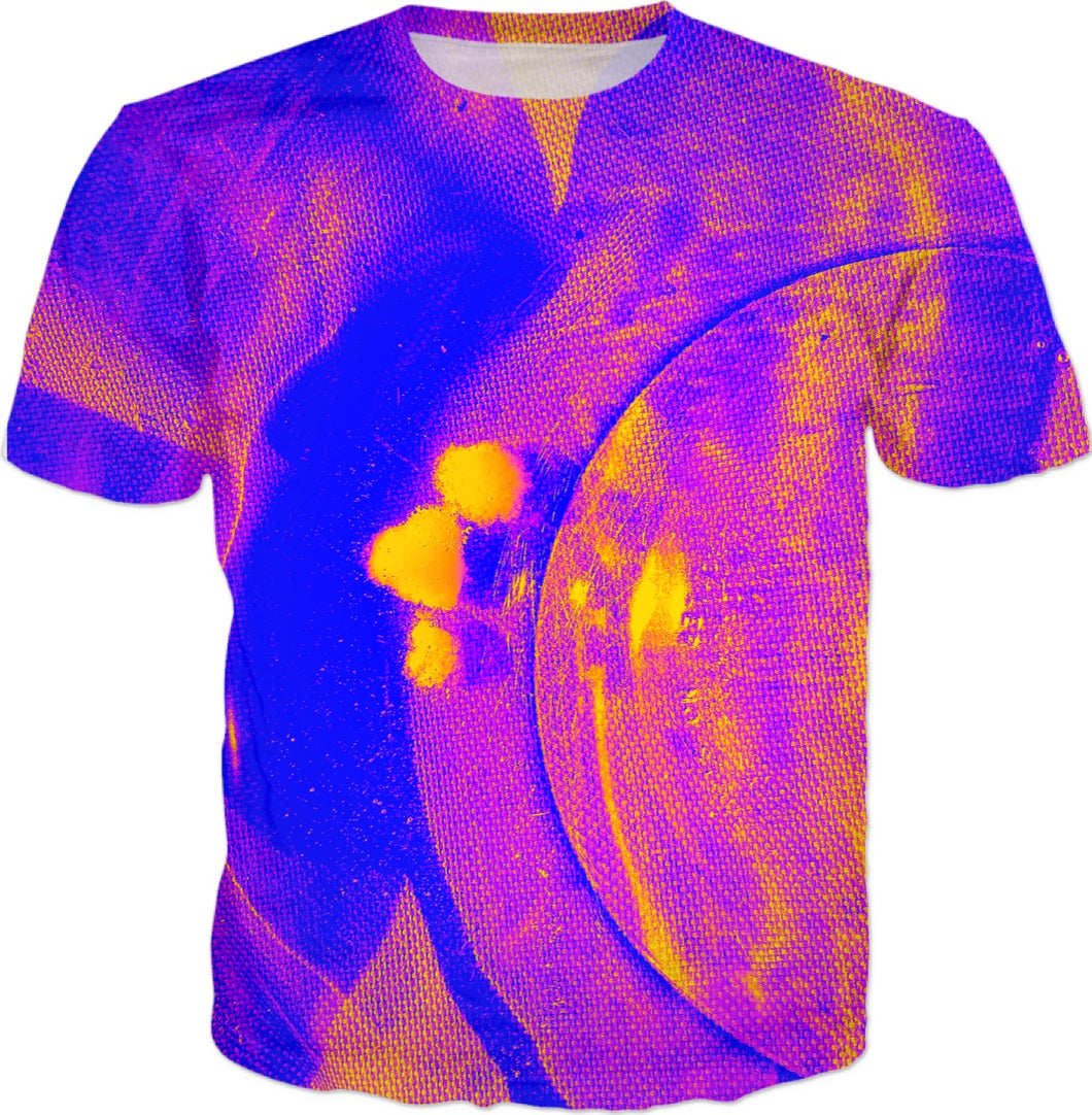 Floating Purple Gold Tee