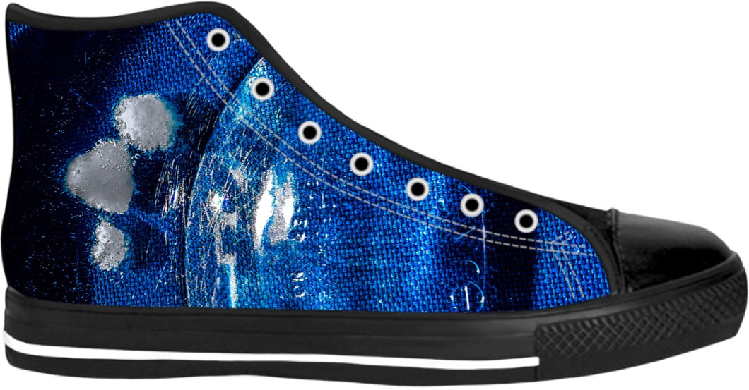 Floating the Blues High Top Shoes