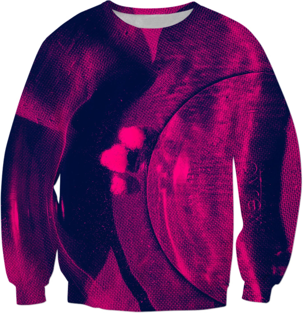Crimson Floating Sweatshirt