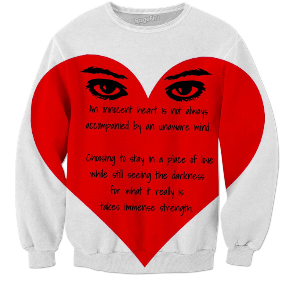 Innocent Heart/Aware Mind Sweatshirt