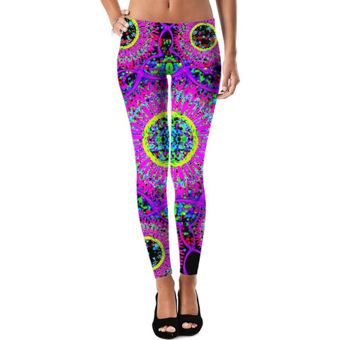 Blacklight Daydream Leggings
