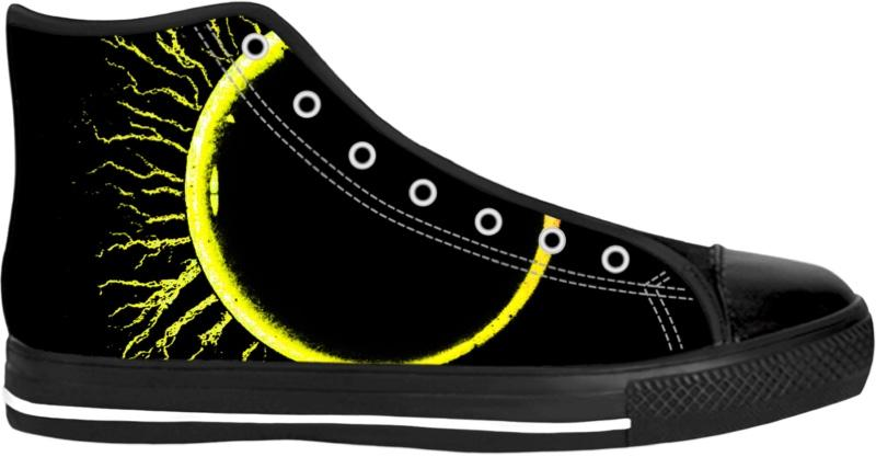 Eclipsed High Top Shoes