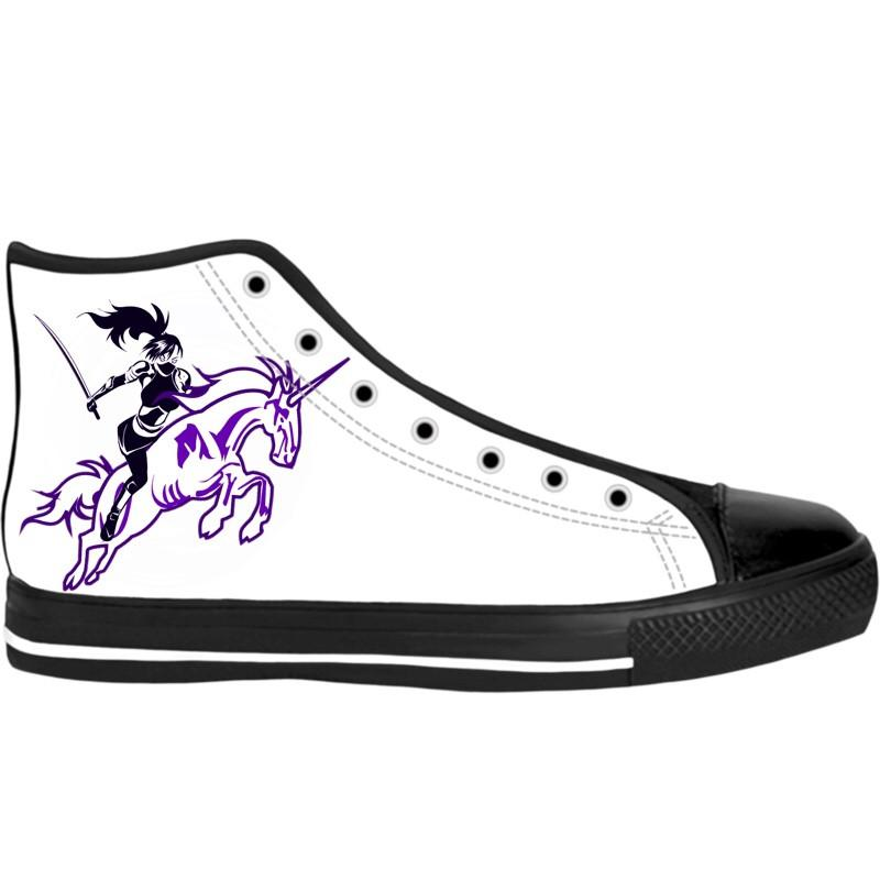 Ninja Artwear High Top Shoes