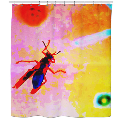Avispa Shower Curtain