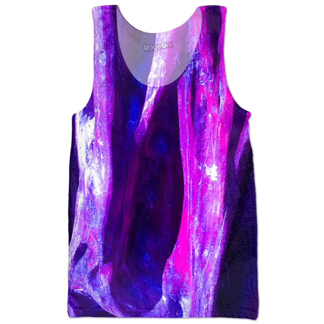 Fuchsia Wood Tank Top