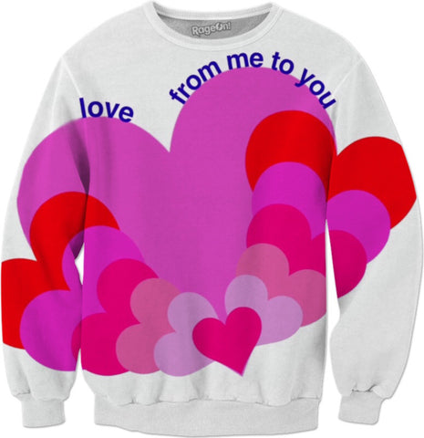 Hearts Love Sweatshirt