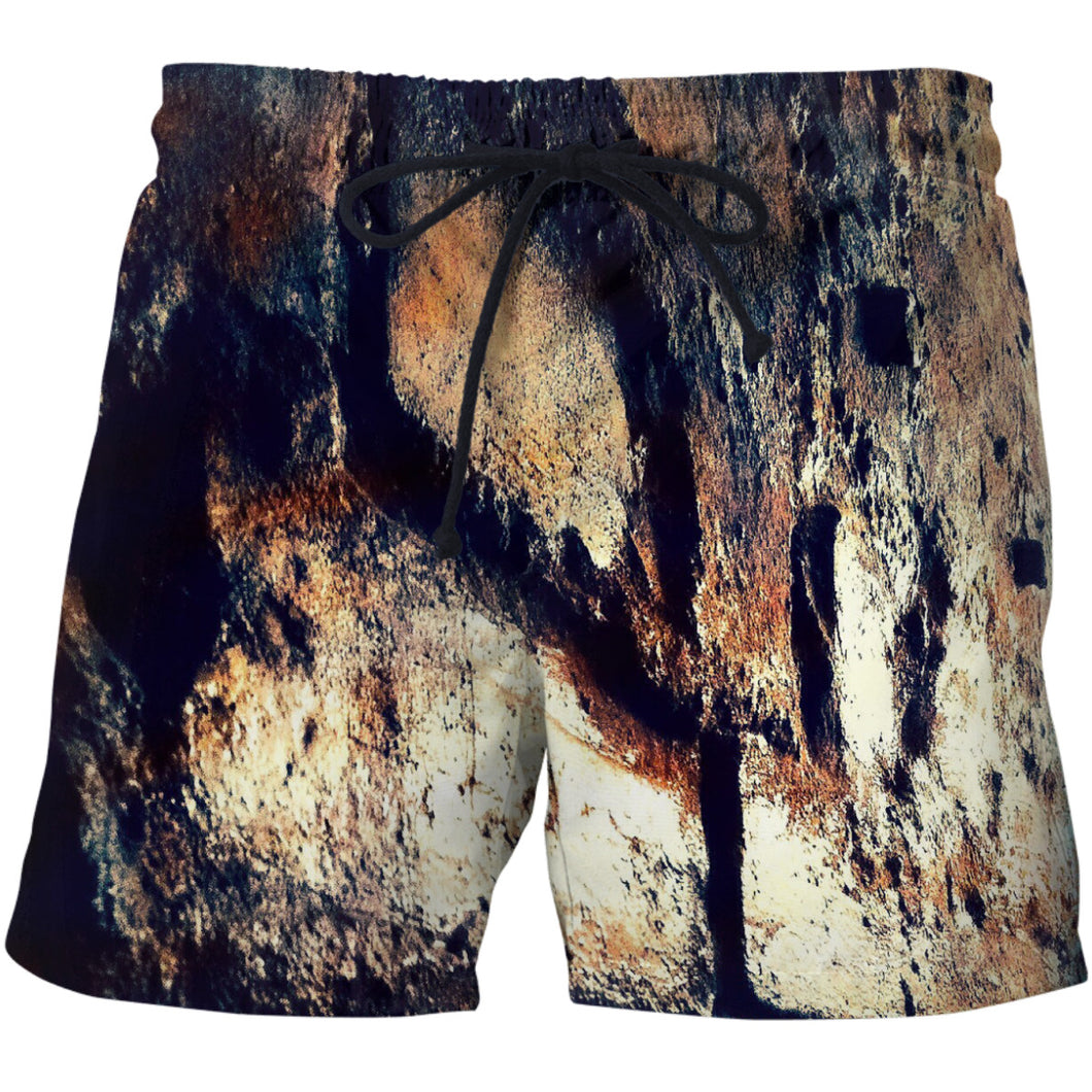 Brick Wall Swim Shorts