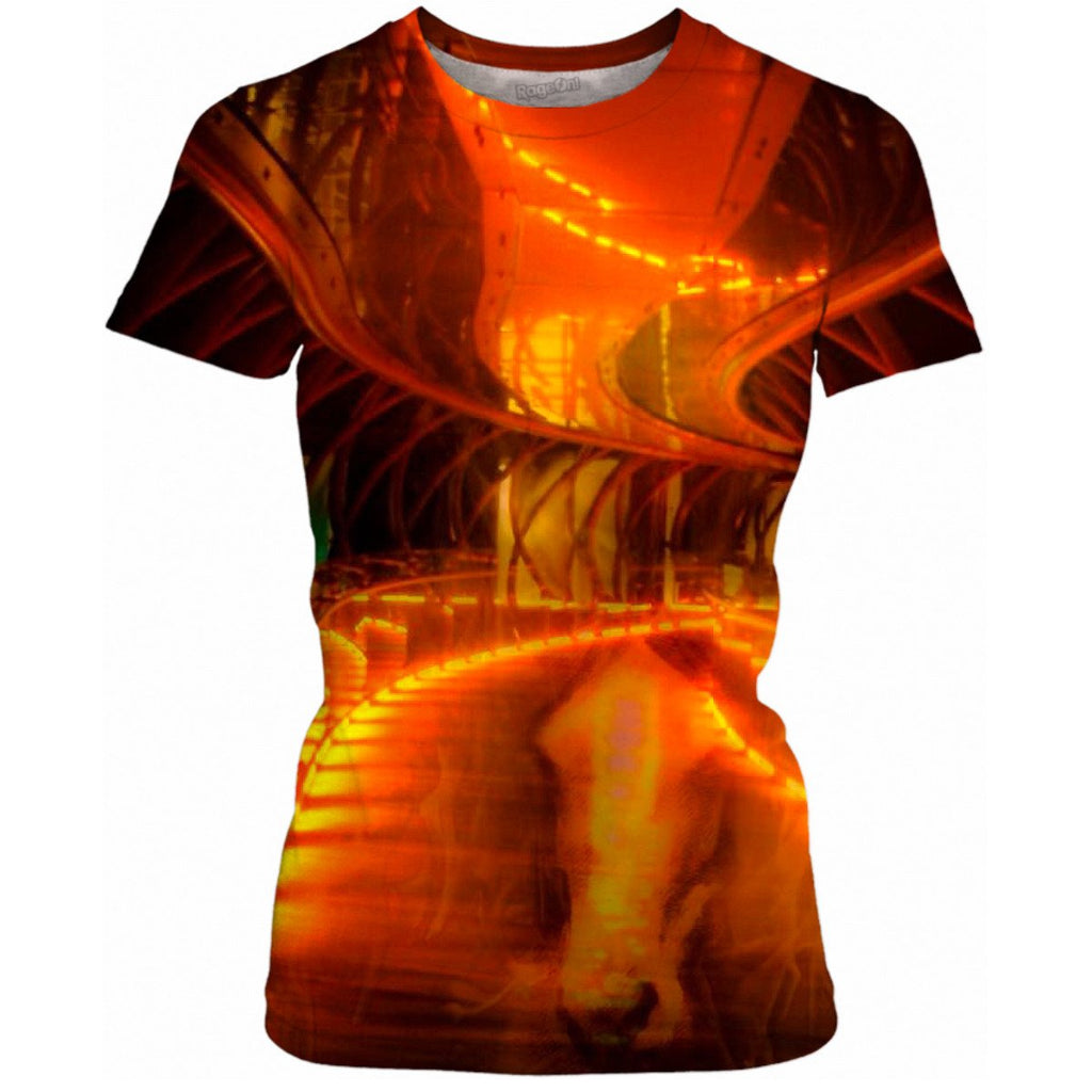 Neigh Flambè Ladies Shirt