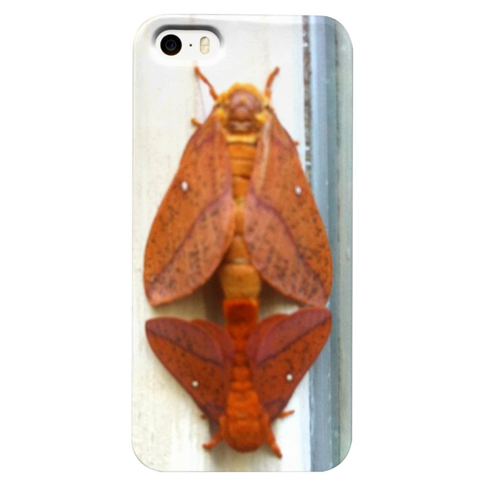 Mating Moths Phone Case