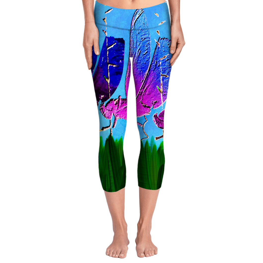 Dragonflies Yoga Pants