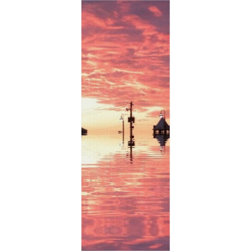 Sunset Reflection Yoga Mat